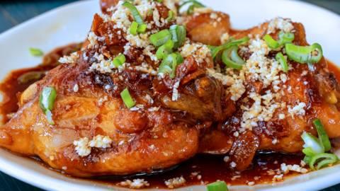 Sovracosce di pollo glassate alla soia